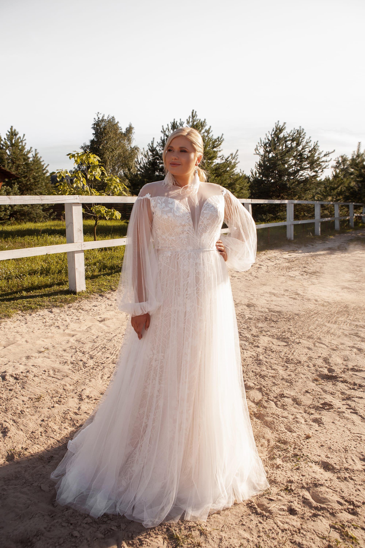 Размер имеет значение: свадебные платья для полных девушек