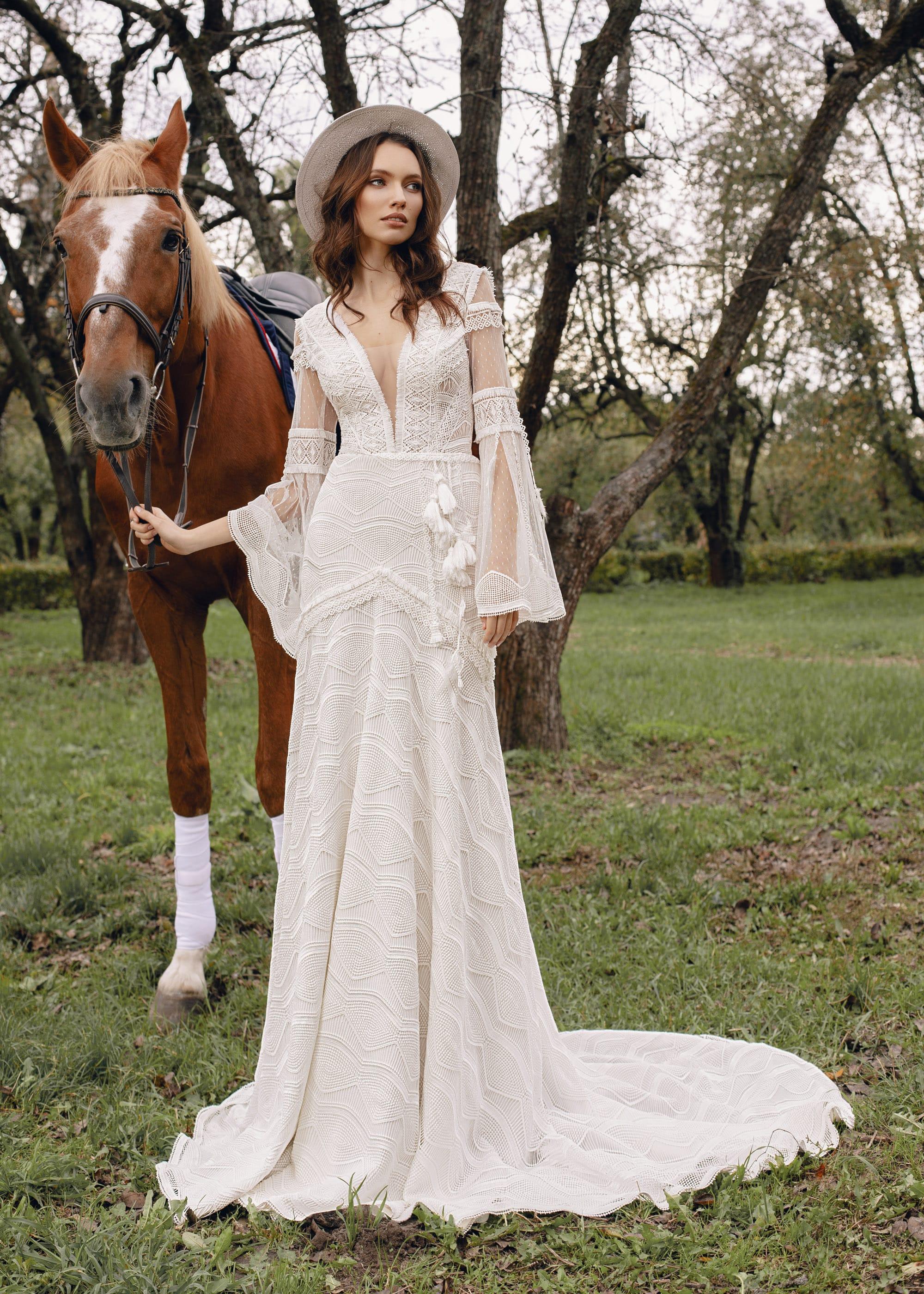 свадебное платье Kl2115