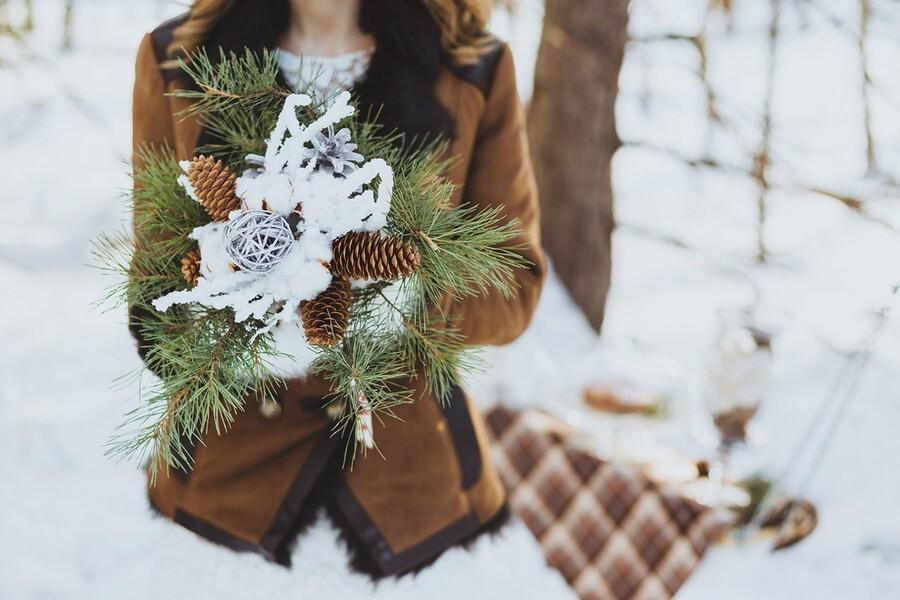 Запоминающаяся свадьба в зимнем стиле