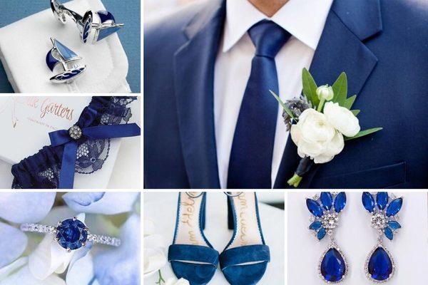 Цвет года 2020: оформление свадьбы в оттенке Classic Blue