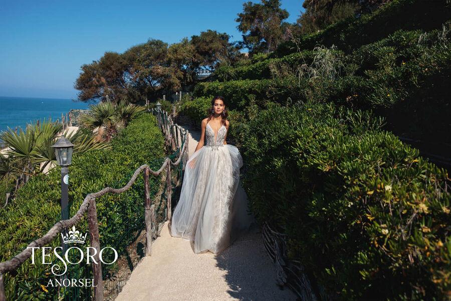Цвет свадебного платья и характер невесты