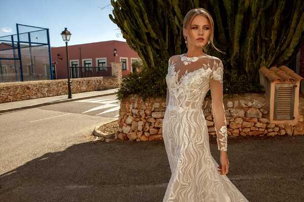 Топ 10 зимних свадебных платьев 2021 от Ariamo Salon