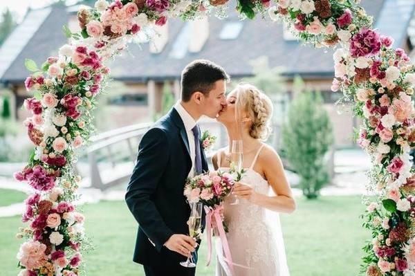 Август - лучший месяц для свадьбы