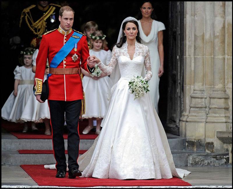 Принц Уильям и его супруга Кейт Миддлтон