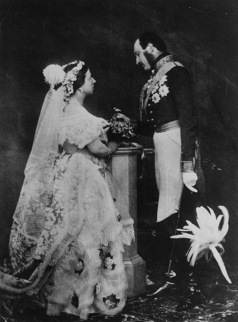 Свадьба королевы Англии Виктории и принца Альберта