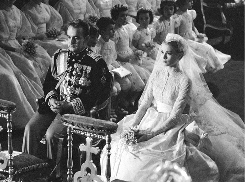 Князь Монако Ренье III и его супруга американская актриса Грейс Келли