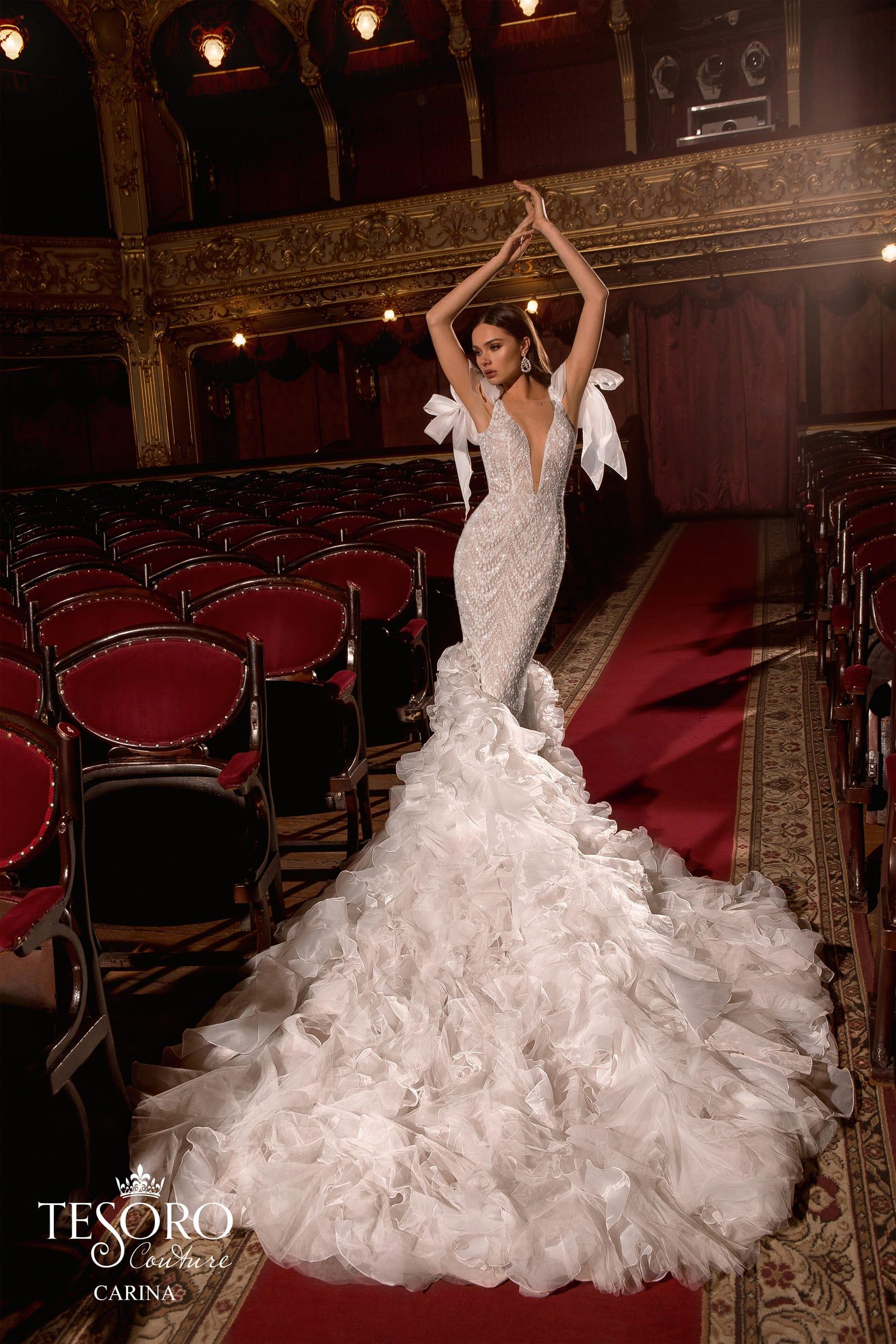 свадебное платье Carina