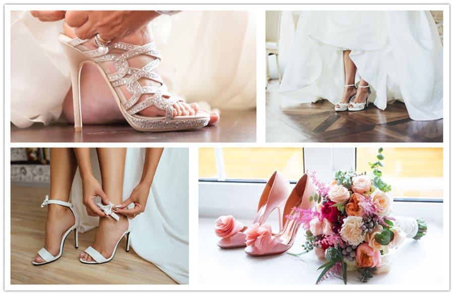 Свадебная обувь: Покупайте обувь согласно собственному типа стопы