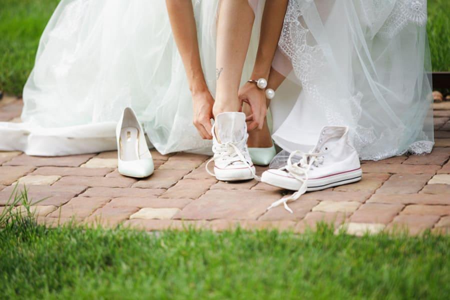 Свадебная обувь Всегда готовьте резервную пару обуви